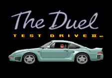 The Duel Test Drive II - Sega Genesis Game