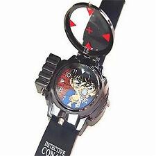 Reloj de pulsera Vidrio Infrarrojo Detective Conan Láser Luz Roja Niño Analógico GF