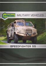 ACHLEITNER SPEEDFIGHTER 55 2016 4x4 SOFRAME MILITARY BROCHURE PROSPEKT FOLDER
