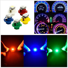 50 Pcs Blue Yellow Red Green White LED 1SMD B8.4D Car Dashboard Indicator Lamps