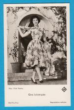 Gina Lollobrigida - unsignierte Ufa-Karte FK 4394 - # 4502