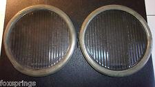 1920's Spreadlight Glass Headlight Lenses & Bezels 631856   -   MS169