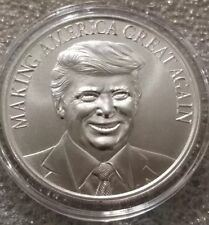 Donald Trump 1 oz .999 silver coin Making America Great Again promise kept NEW