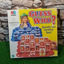 Guess Who? 2000 Classic Board Game From MB Games Complete