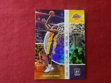 Shaquille O'Neal Los Angeles Lakers 2019/20 Optic SILVER PRIZM REFRACTOR CARD 17