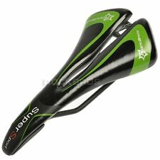 RockBros Cycling Bicycle Comfort Saddle Bike Seat CR-MO Rail Hollow Black Green
