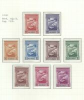 Portuguese Mozambique   1938   Airmail   MNH OG (9 stamps)