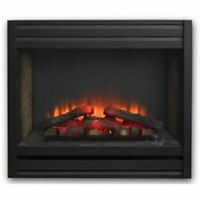 "Brand New Louver Front for 34"" Gallery Electric Led Built-In Fireplace Open Box"