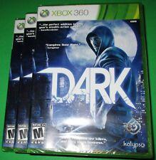 Lot of 3 Dark Microsoft Xbox 360 *Factory Sealed! *Free Shipping!