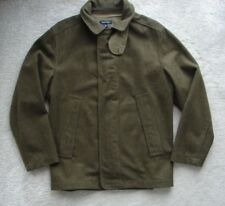 """NAUTICA""Mens Khaki Wool Coat size M."