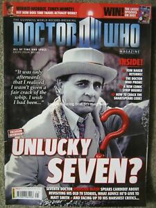 Dr Doctor Who magazine issue 425 15 September 2010 Sylvester McCoy Sophie Aldred
