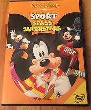 DVD Walt Disney Sport Spass Superstars Micky Goofy Donald Pluto - sehr gut
