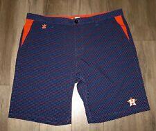 Men's MLB Klew Navy Polka Dot Genuine Merchandise HOUSTON ASTROS Shorts size 40