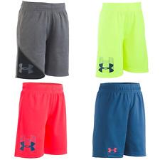 Under Armour Boys Logo Athletic Shorts