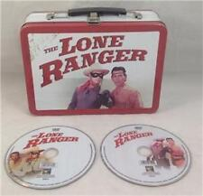 Lone Ranger Metal Lunch Box w 2 DVDs of the Show
