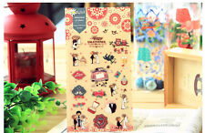 1 sheet romantic wedding owl rose flower Craft scrapbooking filofax stickers