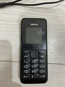 NOKIA 105 RM-908 black mobile phone unlocked in working condition