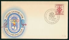 Mayfairstamps Australia 1956 Olypmic Village Cylcing Cover wwp977
