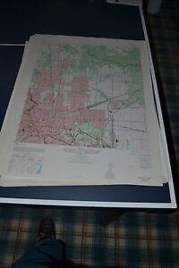 1940's Army topo map Settegast Texas Sheet 6943 IV SE Northeast Houston