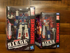 Transformers War for Cybertron lot - Siege Optimus Prime and Siege Ultra Magnus