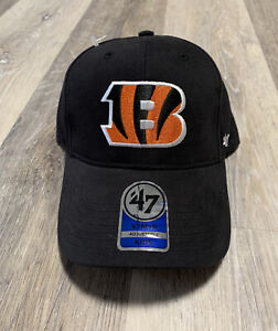 Cincinnati Bengals Basic 47 MVP Adjustable On Field Cotton Hat NFL Kids Adjust
