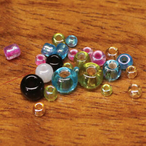 Hareline Tyers Glass Beads Fly Tying Materials - All Varieties