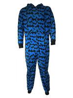 Adults Soft Fleece Blue Batman One Piece Suit Christmas Stocking Filler