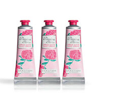 L'OCCITANE Pivoine Flora Hand Cream 3 x 30ml/1oz NEW