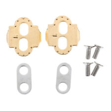 Mtb Mountain Bike Pedal Lock Plate Pedals Eggbeater Self-locking Cleats Set