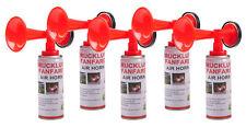 Druckluft-Fanfare 5x 250ml Stadionhupe Signalhorn Tröte Sirene Airhorn bis 1500m