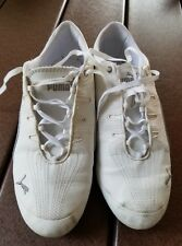 3898f09ad206 Puma Brand White Synthetic Lace Up Size 9M