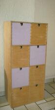 Holz Kommode H 70 x B 31 x T 20 cm mit 8 Mini Schubladen Regal IKEA Moppe RAR!