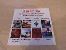 PJ HARVEY - TRICKY -CAST - CATHERINE WHEEL - RARE  CD PROMO !!!!!!!!!!!!!!!!!!!