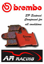 Brembo SP Sintered Rear Brake Pads to fit Buell 1200 XB12 R/S 2004 - 2008