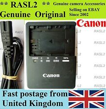 Genuino Original Cargador CANON LC-E6e LP-E6 EOS 6D 7D 60D 70D 5D Mark 2 3 II III