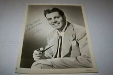 Vintage Autographed Big Band Photo #115 - Tee Ross