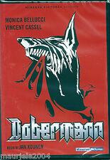 Dobermann (1997) DVD NUOVO SEALED Monica Bellucci. Vincent Cassel. Tcheky Karyo.