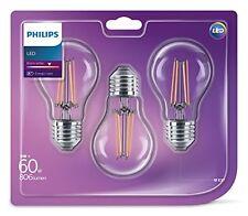 Philips LED Classic 6W (60W) dimmbar E27Edison Ersatzlampen Licht Glühbirne