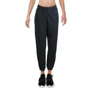 Puma Womens Black Regular Fit Fitness Running Track Pants Athletic M  8399