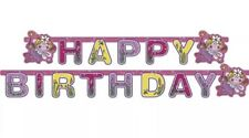 Amscan Funky Fairy Birthday Party Happy Birthday Individual Letter Banner 1.9m