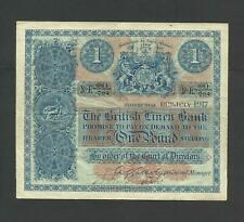 More details for british linen bank  £1   early date   1917   edinburgh   p151a