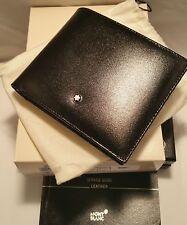 Mont Blanc Wallet Meisterstück 11CC # 7162 MontBlanc Card Holder Leather NEW!!