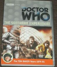 DOCTOR WHO The Sontaran Experiment DVD Classic TV Sci-Fi VGC Tom Baker Fourth