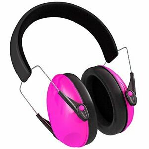 Pink Baby Ear Muffs Safest Rated Noise Cancelling Headphones Sleep Protect