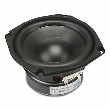 "DROK 4.5"" 6 Ohm Hifi Subwoofer Speakers Stereo Audio Loudspeaker, 40W DIY Loudsp"