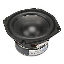 """DROK 4.5"""" 6 Ohm Hifi Subwoofer Speakers Stereo Audio Loudspeaker, 40W DIY Loudsp"""