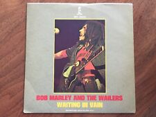BOB MARLEY and Wailers  Waiting In Vain b/w Roots  45 PS Island WIP 26402 rarity