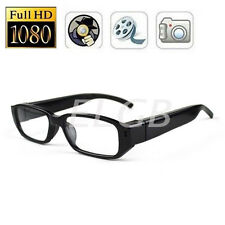 HD 1080P SPY Hidden Portable Glasses Eyewear Camera Security DVR Video Recorder