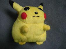 "Nintendo Pokemon Pikachu Plush beanie soft toy VGC 5"" tall"