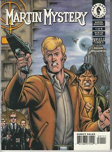 "Martin Mystery #1 Dark Horse Comics Paperback 1999 ""Complete Stories"""